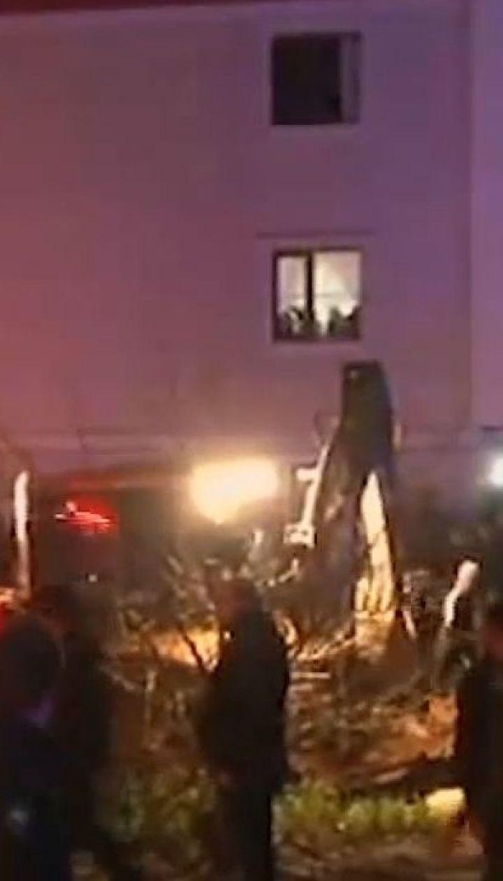 Військовий гвинтокрил розбився під час екстреної посадки неподалік Стамбула
