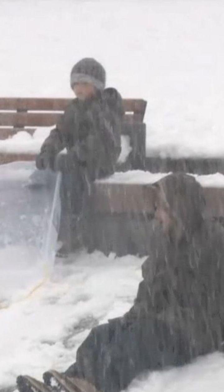 Штат Вашингтон накрив рекордний сніговий шторм