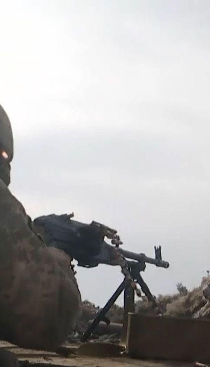 Минометный огонь на Донбассе: один украинский воин был ранен
