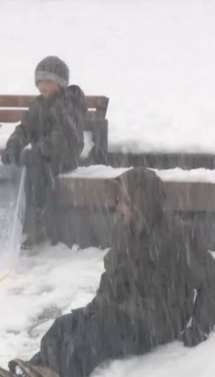 Штат Вашингтон накрыл рекордный снежный шторм