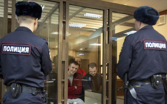 У Росії залишили під арештом третю четвірку військовополонених українських моряків