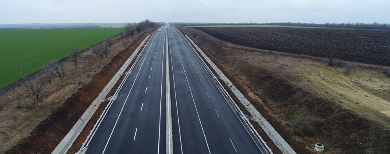 Международное шоссе Одесса-Рени официально открыли после строительства