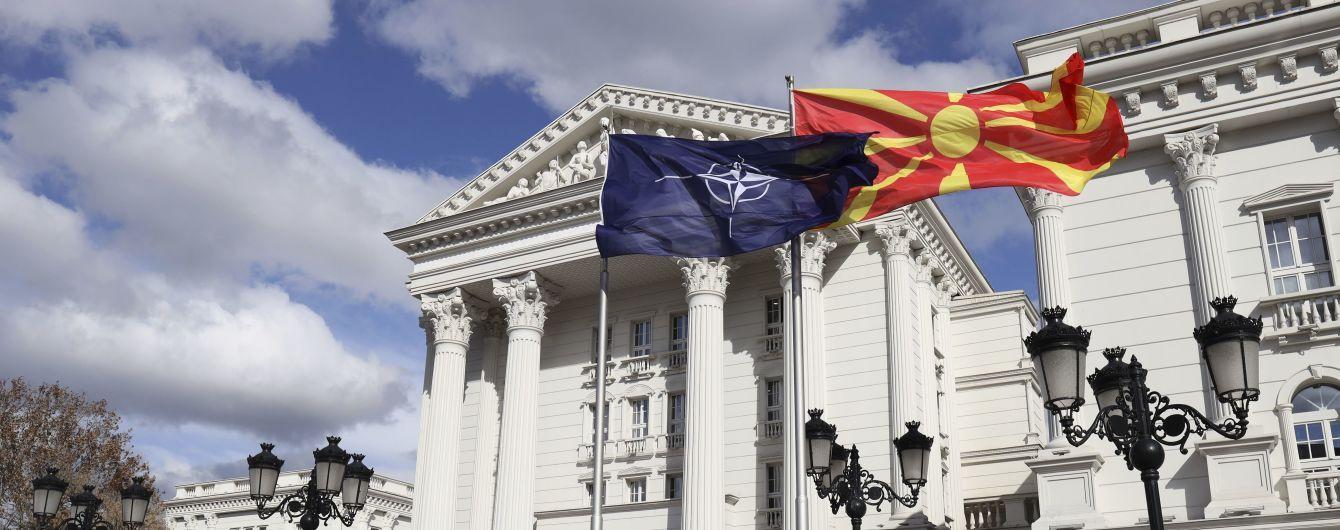 Парламент Северной Македонии одобрил вступление страны в НАТО
