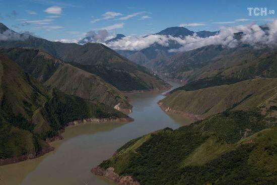 У Колумбії за лічені тижні зникла друга за величиною річка. Розповідаємо, що трапилося