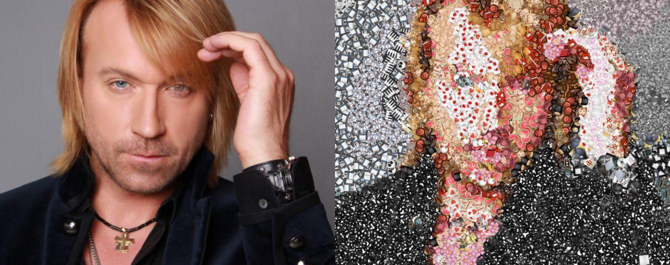 Олег Винник и Мона Лиза с эмодзи. Американец создал сервис, который рисует изображение смайликами