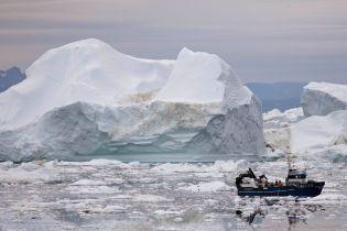 Вдруге в історії: NASA знайшло гігантський давній кратер, похований під шарами льоду