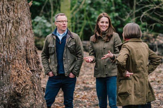 Будиночок на дереві та штучні водоспади: у Мережі показали сад, створений Кейт Міддлтон