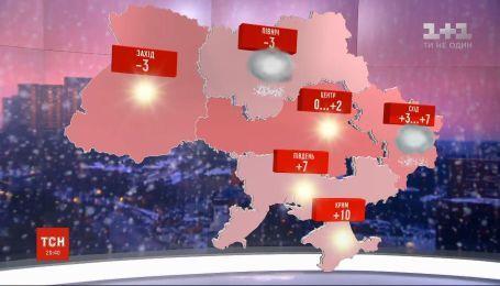 Погода в Україні: синоптики знову обіцяють снігопади