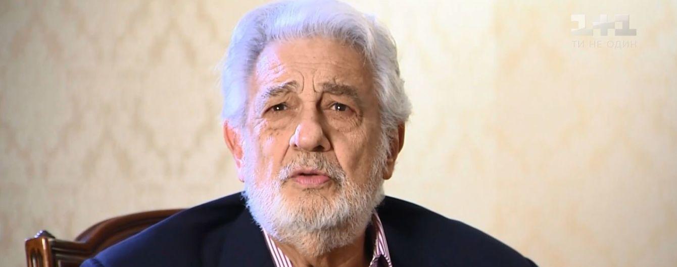 Легендарный Пласидо Доминго рассказал о тайном визите в Киев и Instagram в 78-летнем возрасте