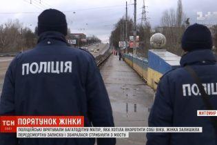 В Житомире полицейские спасли многодетную мать за мгновение до самоубийства