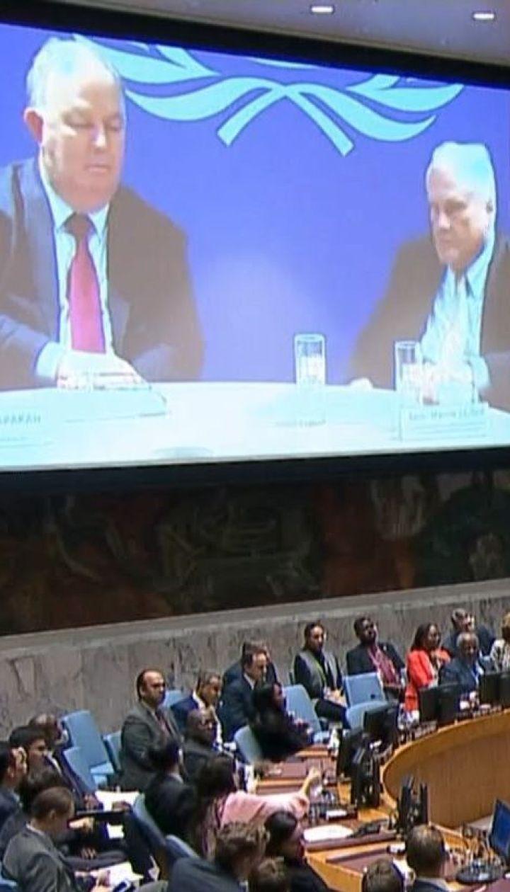 Перед скликаним Росією засіданням Радбезу ООН європейські країни спільно підтримали Україну