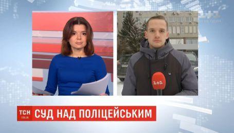 Председатель профсоюза МВД едет в банк, чтобы внести 115 тысяч гривен залога за полицейского