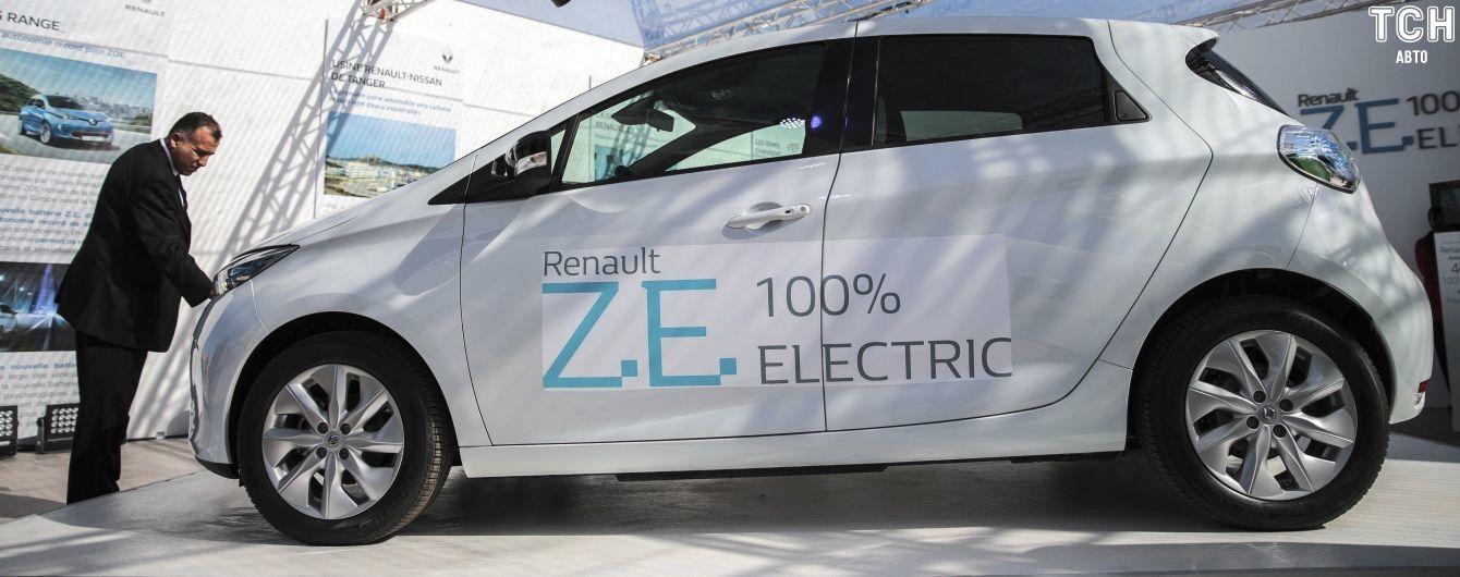 Обновленный Renault Zoe получит более мощную батарею, чем у Nissan Leaf
