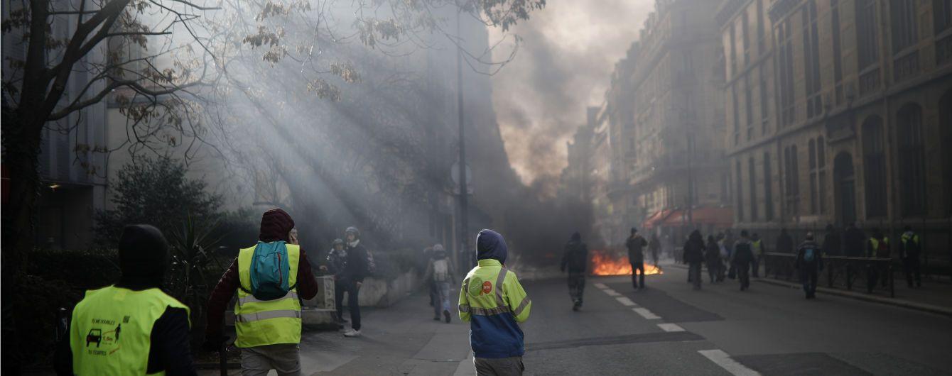 """Протесты """"желтых жилетов"""": 1800 французов попали под суд"""