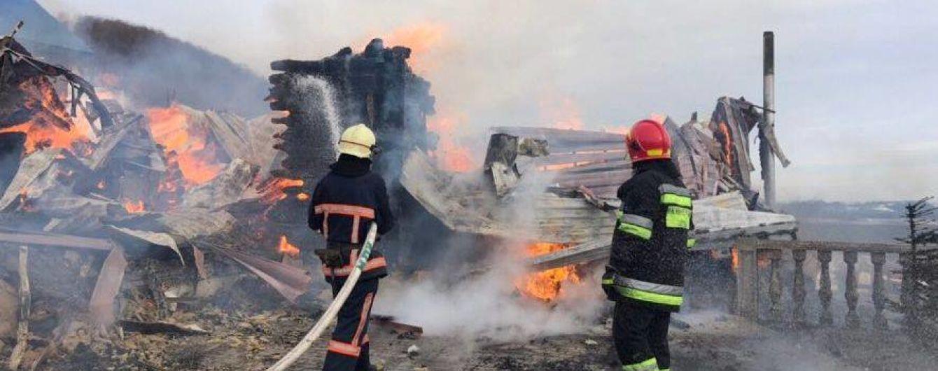 На Прикарпатье произошел пожар в монастыре ПЦУ