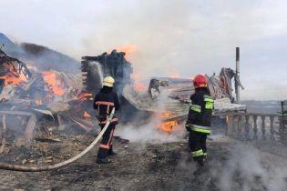 На Прикарпатті спалахнула пожежа в монастирі ПЦУ