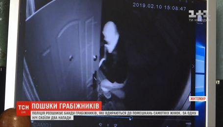 Банду грабителей, которые нападают на квартиру одиноких женщин, разыскивают на Житомирщине