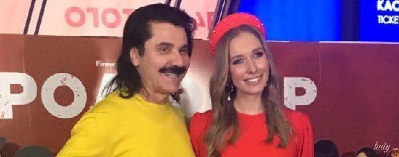 Звезды на премьере комедии: Осадчая в красном платье, Зибров в желтом свитере