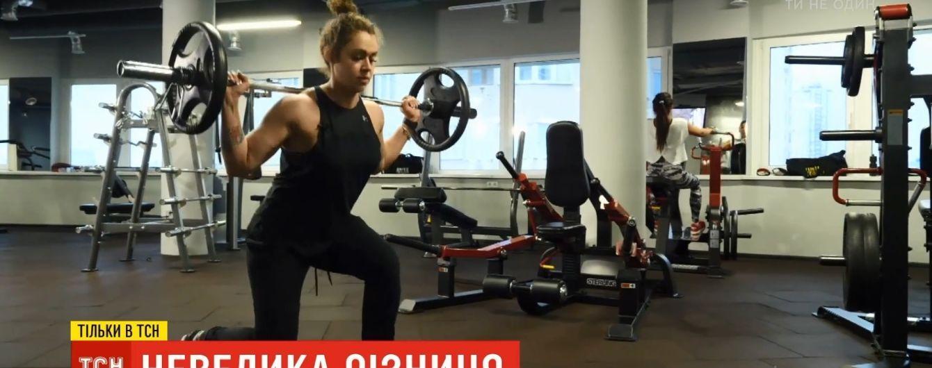 Жена-бодибилдер: киевлянин влюбился и женился на девушке, которая может уложить его на лопатки