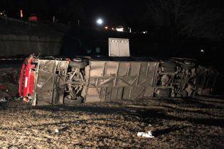 В Северной Македонии с трассы слетел автобус с рабочими, погибли 14 человек