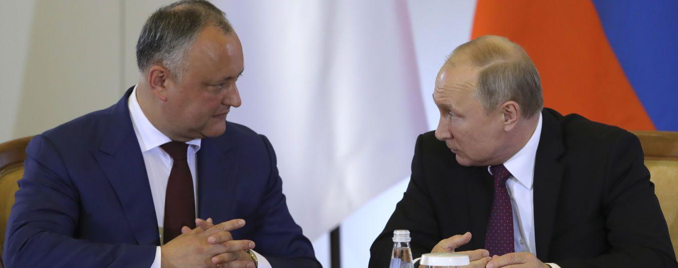 В Молдове хотят отозвать своего посла из Москвы