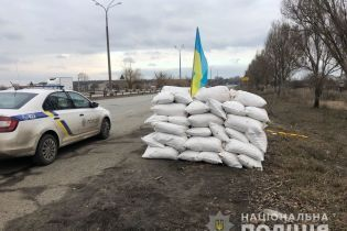 """Под Днепром вооруженные """"зеленые человечки"""" пытались установить блокпост"""