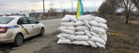 """Під Дніпром озброєні """"зелені чоловічки"""" намагалися встановити блокпост"""