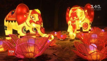 У Києві стартував фестиваль гігантських китайських ліхтарів