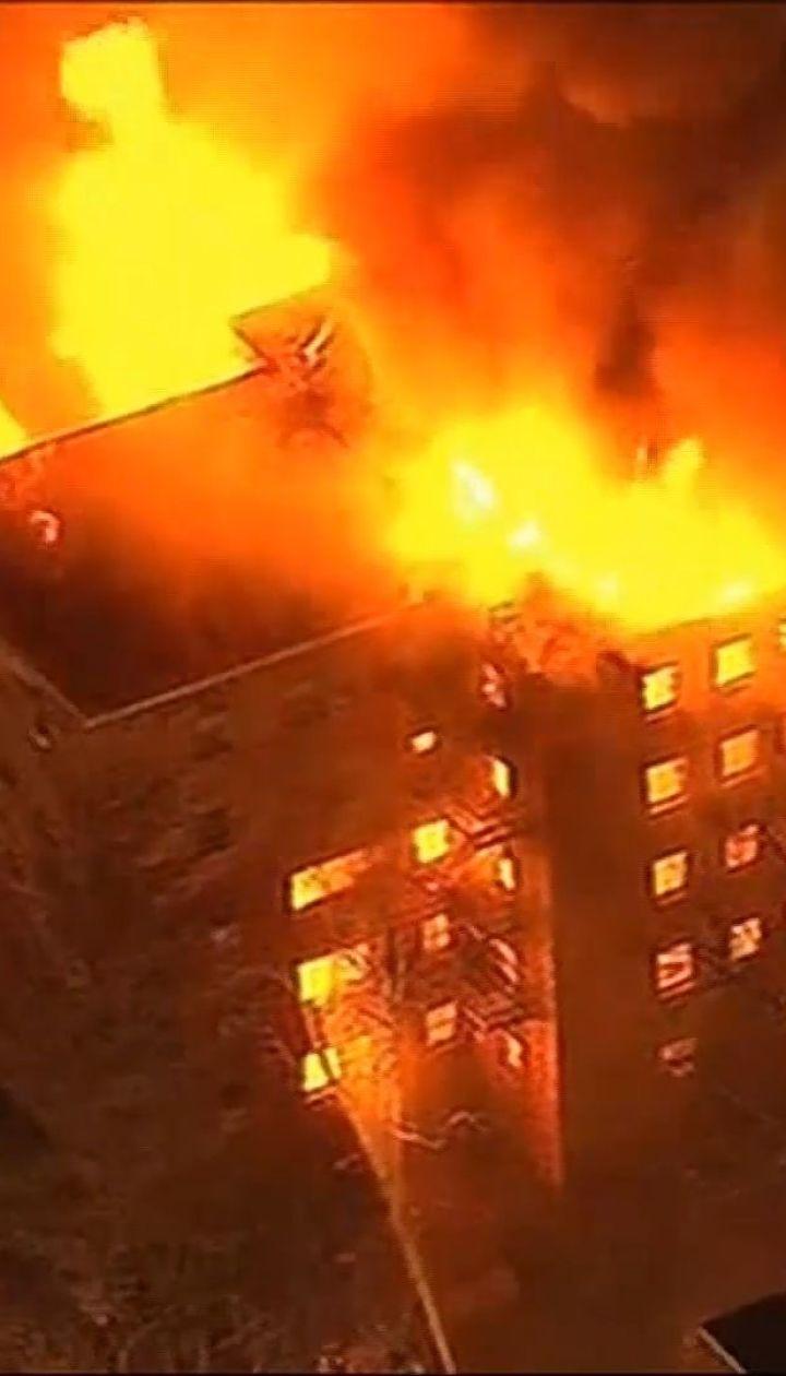Пожарные более четырех часов тушили возгорание в многоквартирном доме в штате Нью-Джерси