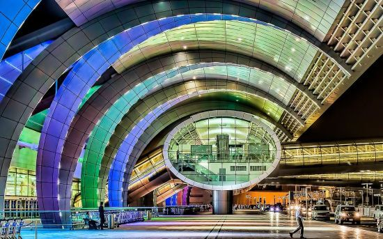 У Дубайському міжнародному аеропорті з'явилося 3D-місто