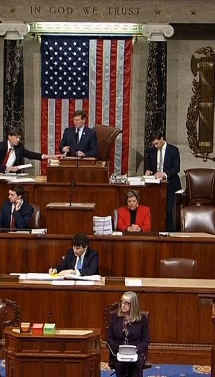 Парламент США одобрил законопроект о финансировании правительства до сентября этого года