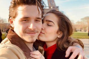 Так романтично: закоханий Бруклін Бекхем відвіз свою дівчину до Парижа
