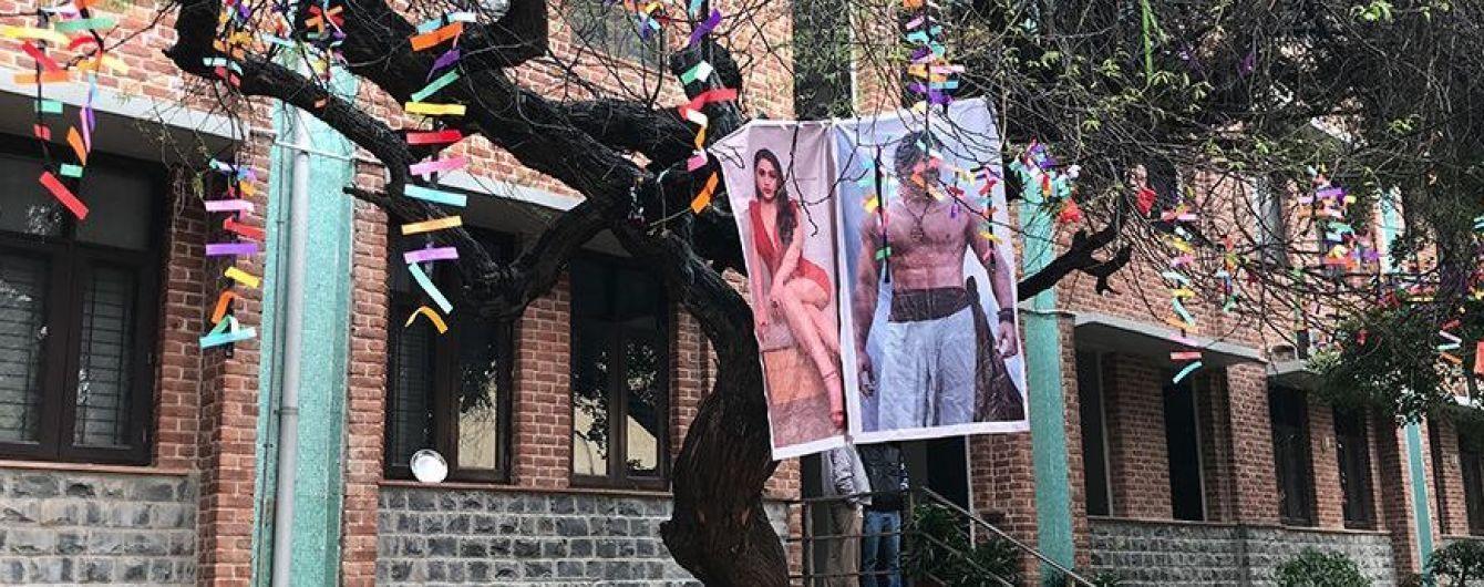 Індійські студенти завішали дерево презервативами, щоб боги допомогли з першим сексом