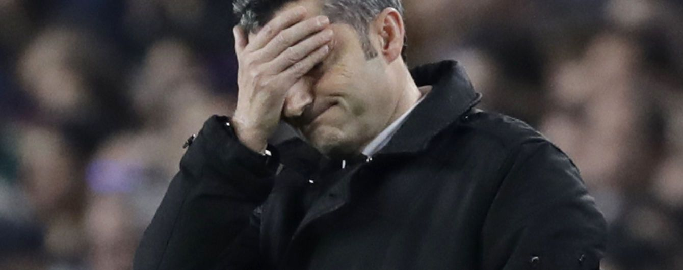 """Барселона"" звільнила Вальверде - ESPN"