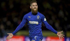 Английский футболист покрасил бороду в сине-желтый цвет