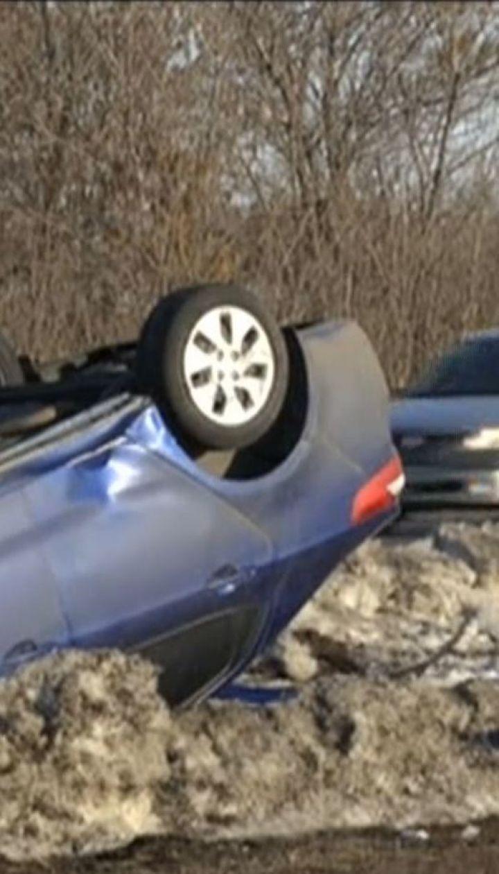 В ДТП с участием четырех авто погибла 54-летняя женщина