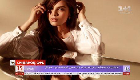 Michelle Andrade расскажет о дебюте в кино в Сніданку.Вихідний