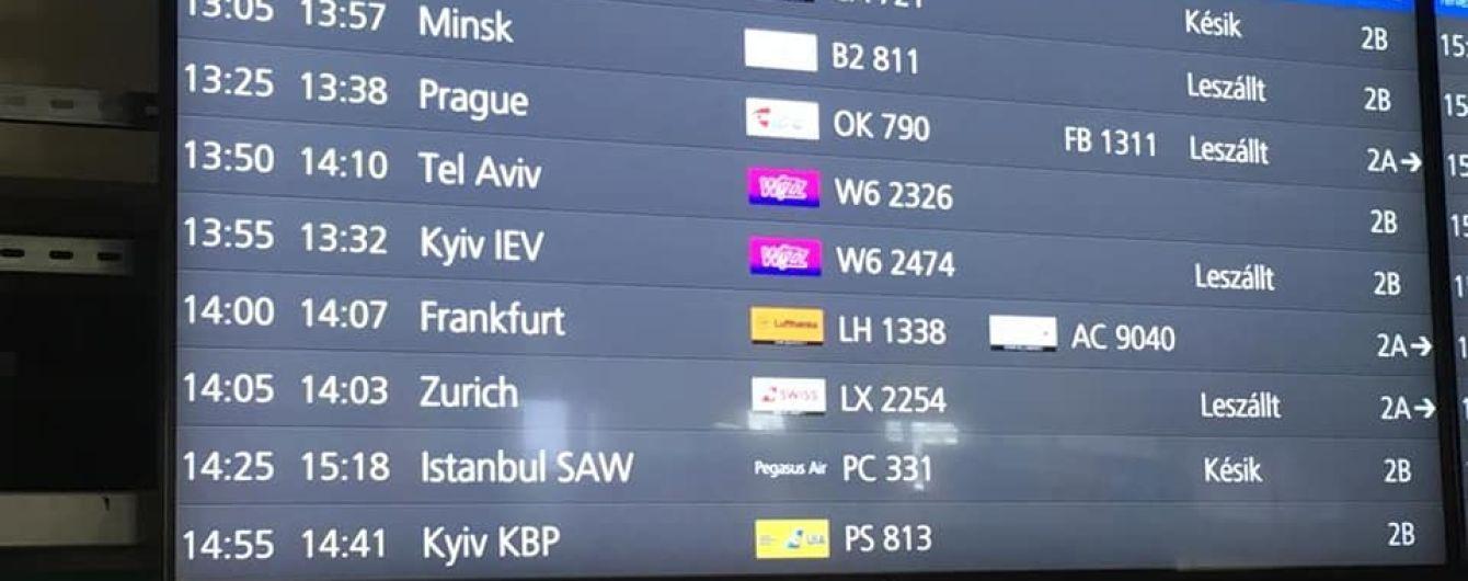 Три европейских аэропорта сменили название украинской столицы Kiev на Kyiv