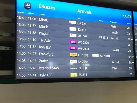 Три європейських аеропорти змінили назву української столиці Kiev на Kyiv
