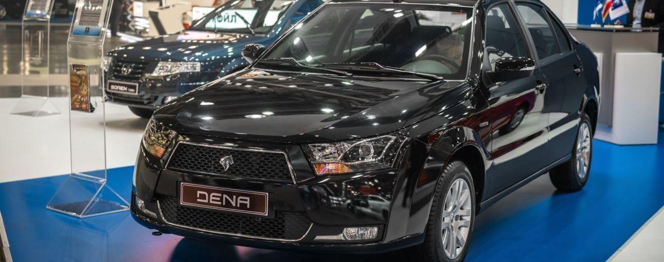 На ринок України повернуться іранські авто, які зникли 2010 року