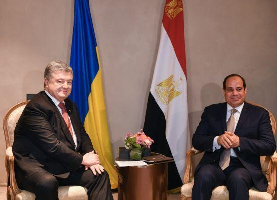 Єгипет і Україна можуть досягнути товарообігу у два мільярди доларів - Порошенко