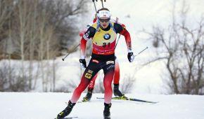 Биатлон. Норвежец Бьо досрочно выиграл малый Хрустальный глобус в спринте