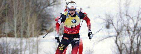 Біатлон. Норвежець Бо достроково виграв малий Кришталевий глобус у спринті