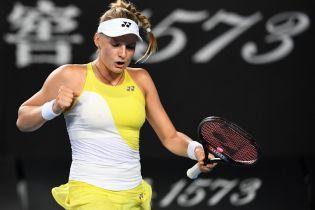 Ястремская вышла в четвертьфинал парного турнира в Истборне