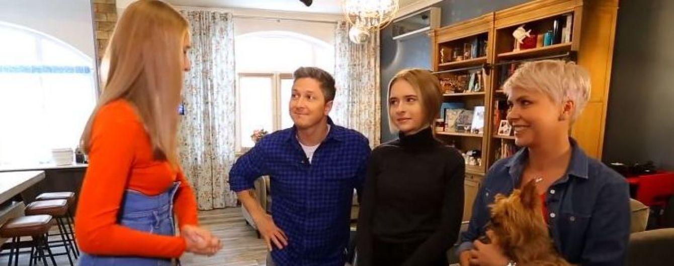Александр Педан впервые познакомил с женой и показал свою квартиру