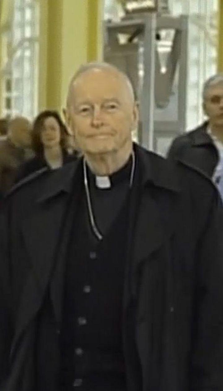 Папа Римский лишил сана экс-кардинала, которого признали виновным в домогательствах к подросткам