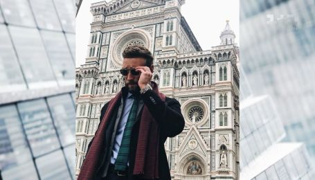 Иракли Макацария похвастался нарядами на выставке мужской моды