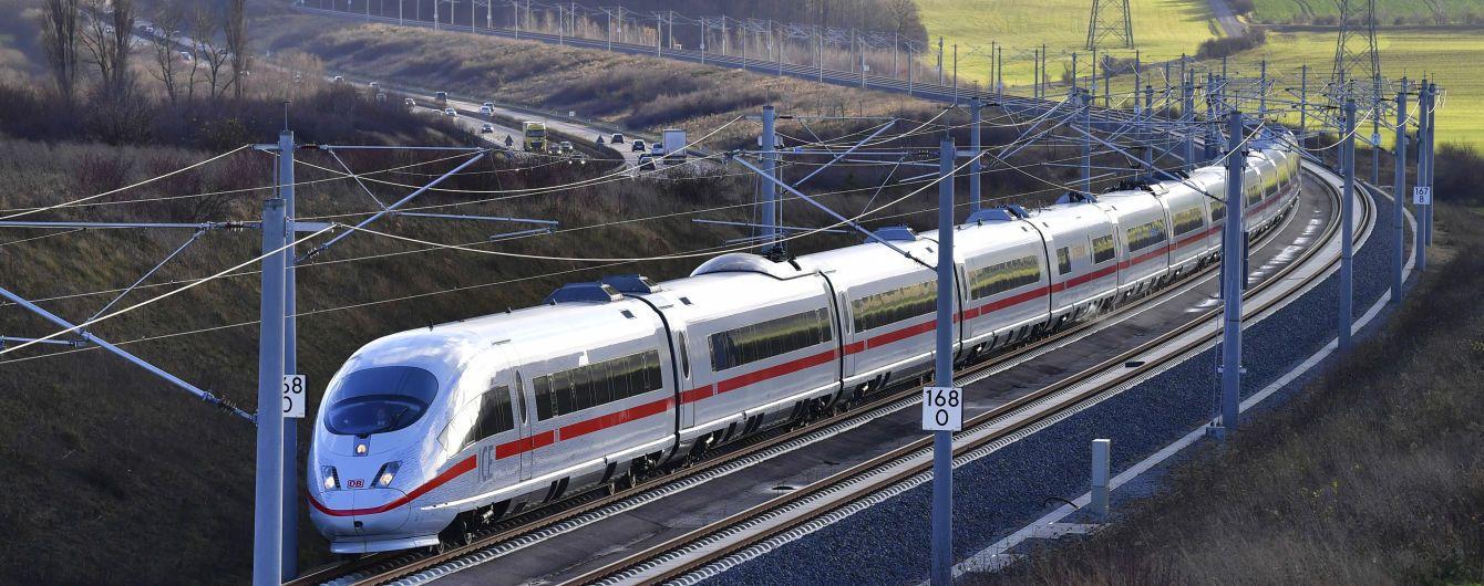 У Німеччині з поїзда висадили 700 людей через пістолет у туалеті