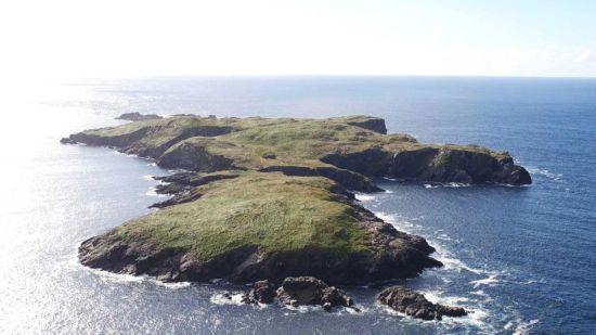 В Ірландії виставили на продаж цілий острів з монастирем та котеджем