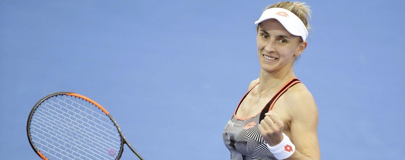 Цуренко через відмову суперниці достроково виграла стартовий матч на турнірі в Дубаї